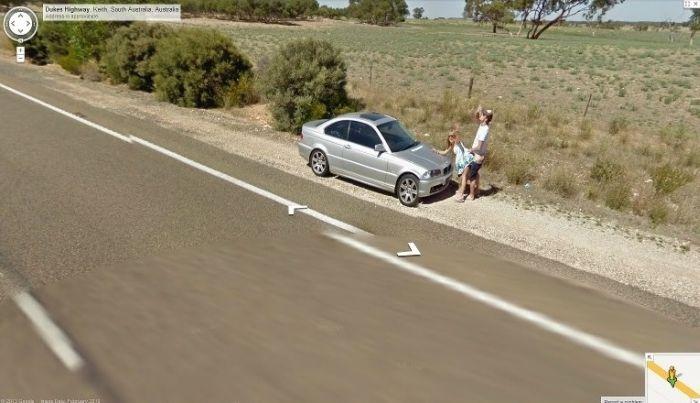 sex caught on google maps
