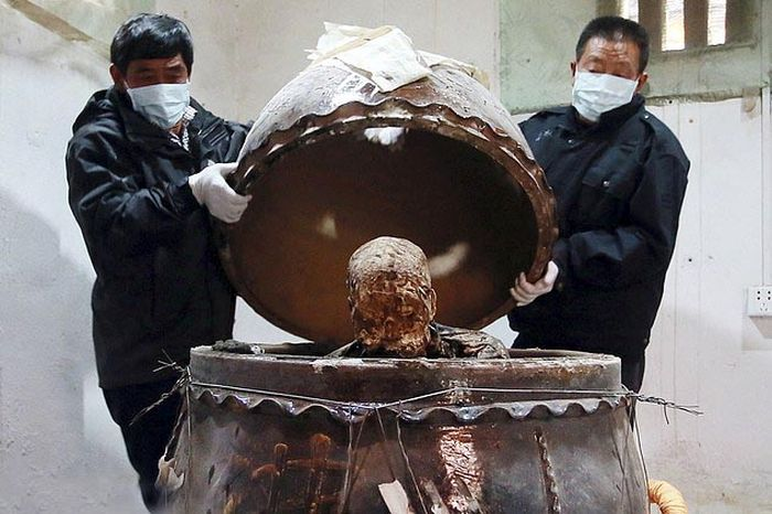China Mummified Monk