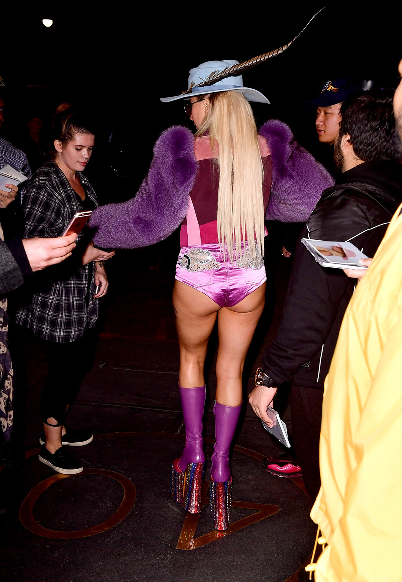 Celebrity Sightings in New York City - October 22, 2016