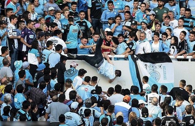 Argentina Soccer Violence