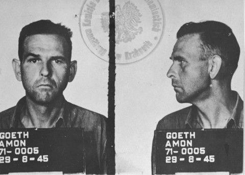 Amon_Goth-prisoner_1945
