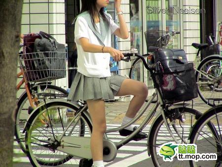 自転車の 自転車 岡山 : 中国のサイトが日本の女子高生 ...